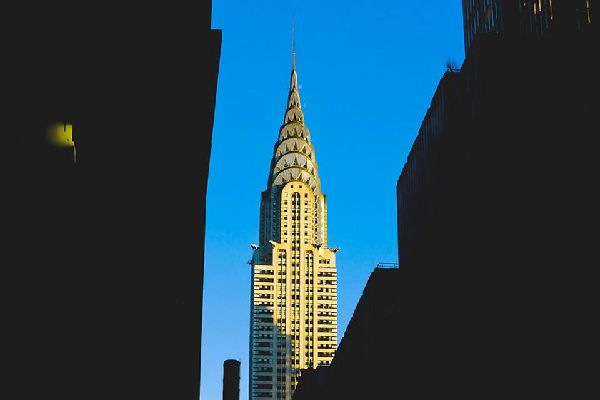 On Lexington Avenue, this Art Deco skyscraper was also once the world's tallest building and served as the Chrysler Corporation's headquarters for over 20 years