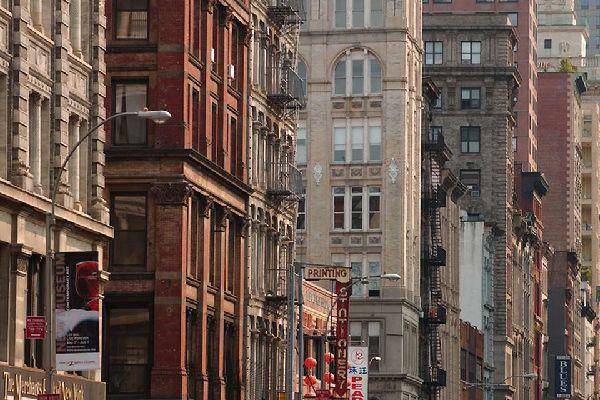 """Das """"Midtown""""-Viertel zwischen der 14. und 59. Straße ist das traditionelle Touristenzentrum von New York."""