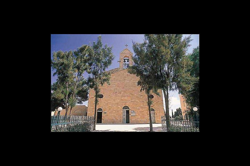 In questa chiesa di Madaba il celebre mosaico detto Mappa di Terrasanta.