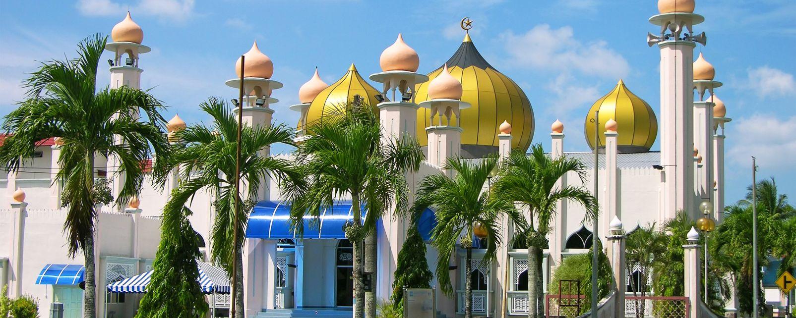Kuah Town, Langkawi, Malaisie, La ville de Kuah