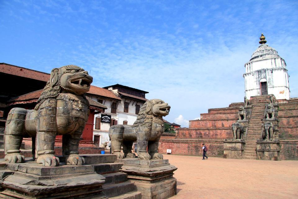 Founded in the 12th century, Bhaktapur, the town also called Bhadgaon