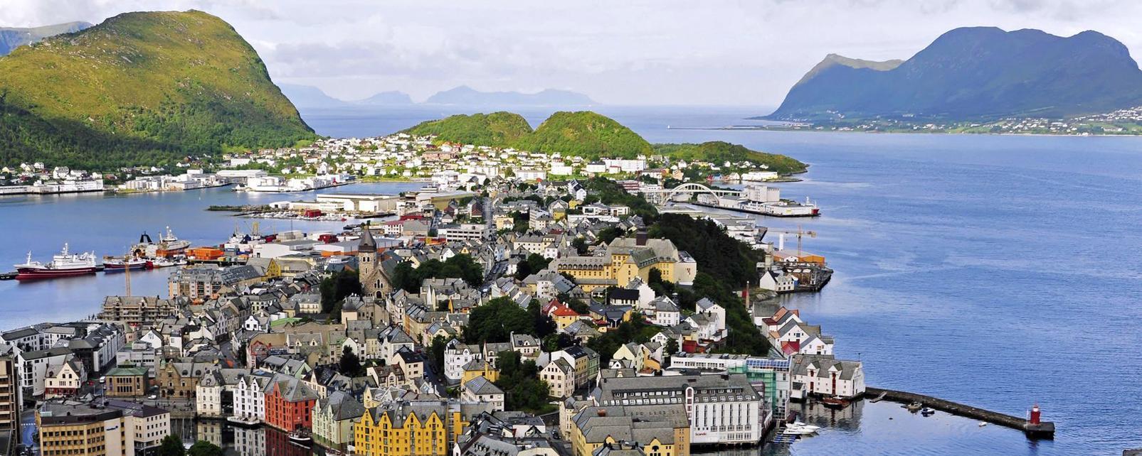Europe; Norvège; Alesund;
