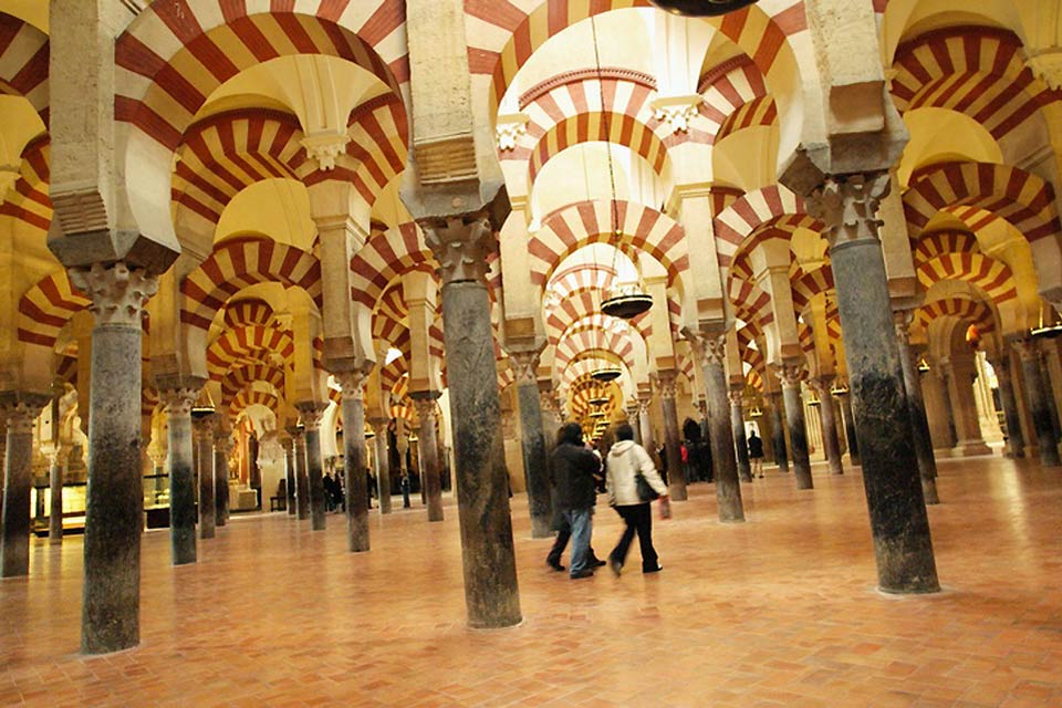 The Mosque-Cathedral of Cordoba is the most important monument in the Islamic Western World.