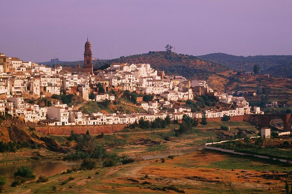 A panoramic view of the city of Córdoba.