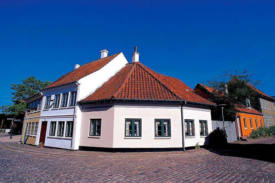 Odense è la città natale del famoso scrittore Hans-Christian Andersen.