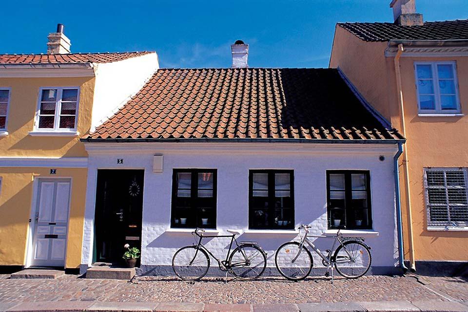 Il Vescovado e l'università del sud della Danimarca si trovano a Odense.