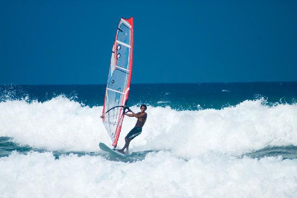 This area is also renowned for its windsurfing and all other kinds of board sports.