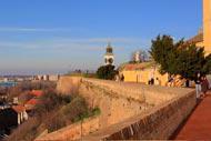 La ville abrite notamment la forteresse médiévale de Petrovaradin, connue comme le « Gibraltar du Danube ».