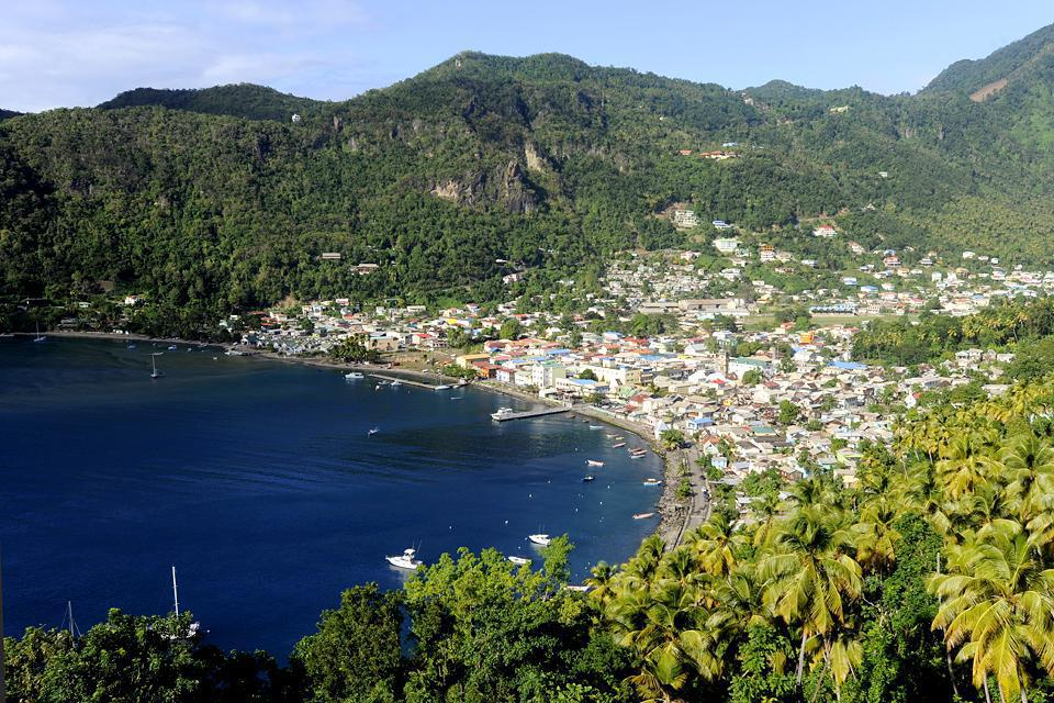 Soufrière is the main city in the south-west of Saint Lucia.