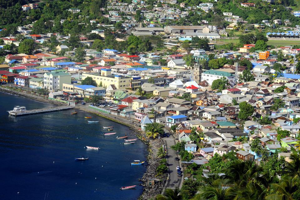 With 13,000 inhabitants, the oldest village in Saint Lucia is seen as a town in its own right.