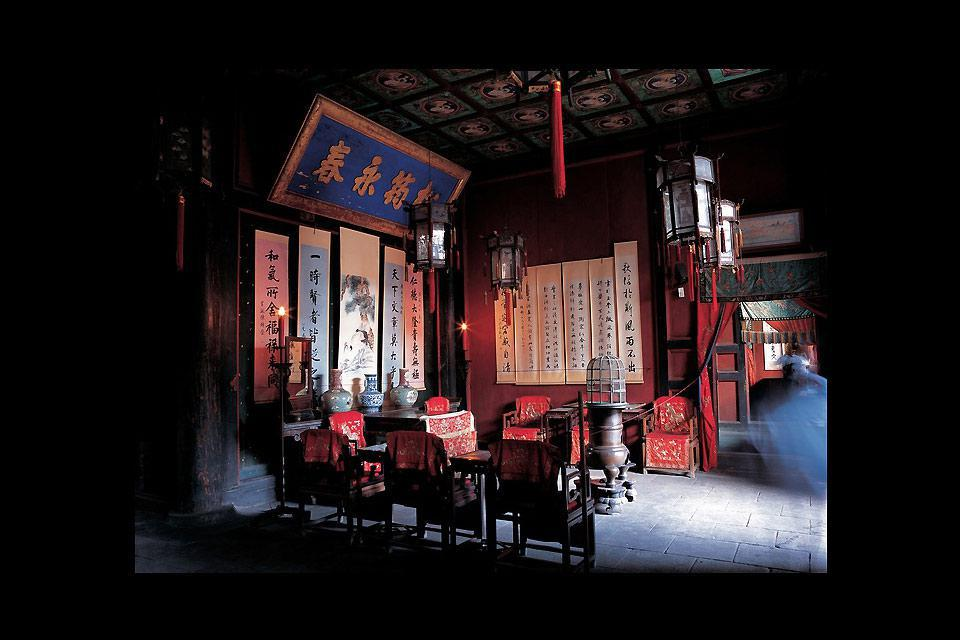 Confucius had a profound effect on Chinese culture and temples in homage to the philosopher were built throughout the country.
