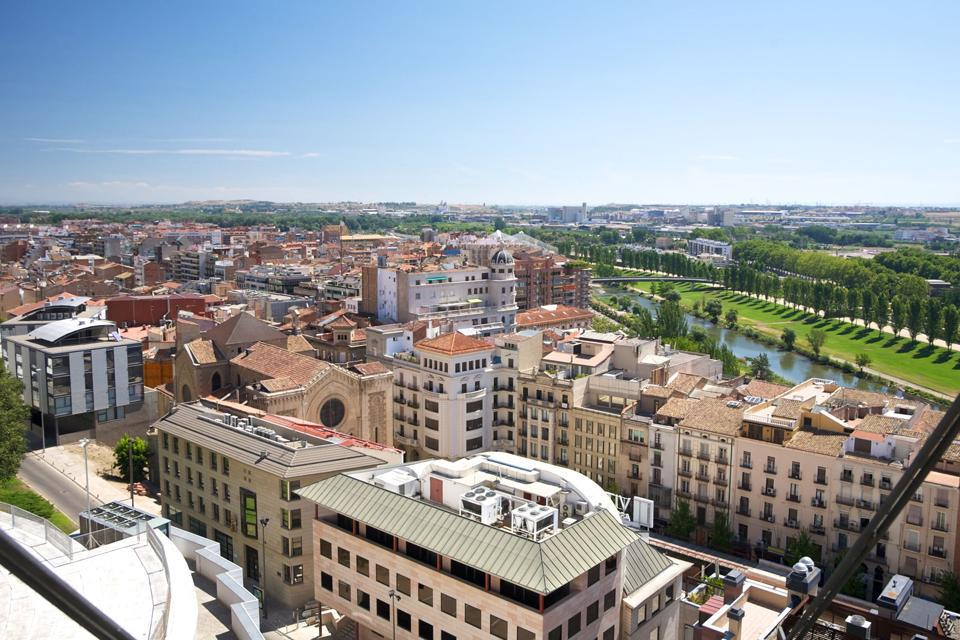 The city of LLeida mainly lives off of its agriculture and its chemical and textile industries.