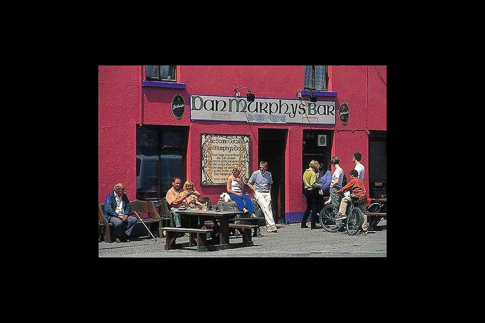 Cork, the country's second largest city, is home to the famous Murphy's, a brown stout beer produced in the region since 1856 and present in all the local pubs.