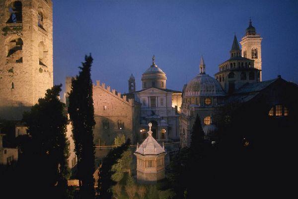 Piazza del Duomo, where you can admire the Cathedral, the Baptistery, and the Basilica of Santa Maria Maggiore.