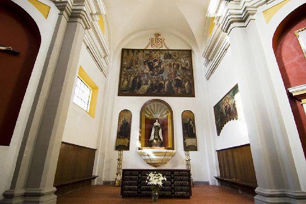 All' interno della Cattedrale è notevole la cappella del Rosario, realizzata tra il 1650 e il 1690.