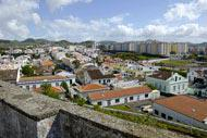 Ponta Delgada, the economic capital of the Azores, is located in the south of Sao Miguel Island.