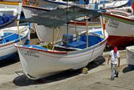 Ponta Delgada was originally a small fishing village and this tradition lives on today, as demonstrated by the various boats moored in the port.