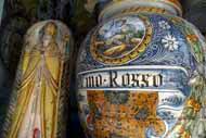 Umbría es famosa por su producción de loza y cerámica.