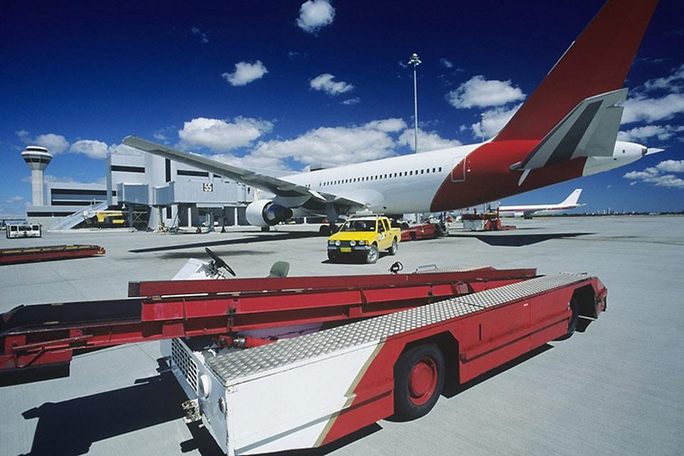 Der Flughafen von Perth liegt im Osten der Stadt. Der Flughafen Jandakot hingegen befindet sich im Süden.