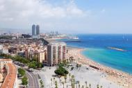 Barceloneta is the central neighbourhood of Barcelona. It was notably home to the 1992 Summer Olympics and is popular today for its beaches and proximity to the port.