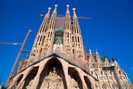La Sagrada Familia è l'opera maggiore di Antoni Gaudi. È il monumento spagnolo più visitato, che resta tuttavia ancora oggi incompleto.