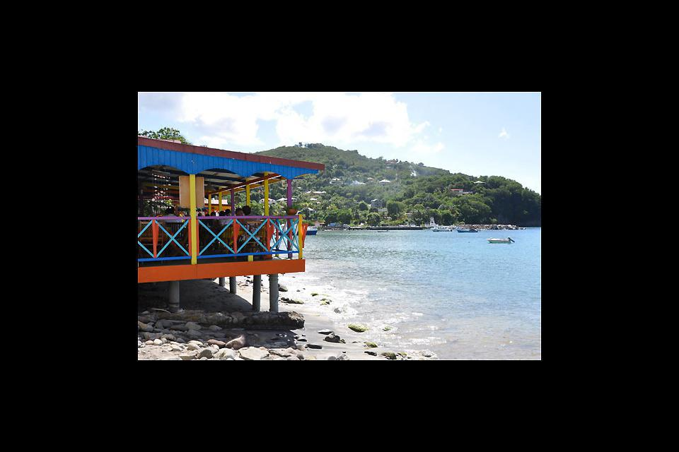 Deshaies is a charming little fishing village that is typical of Guadeloupe.