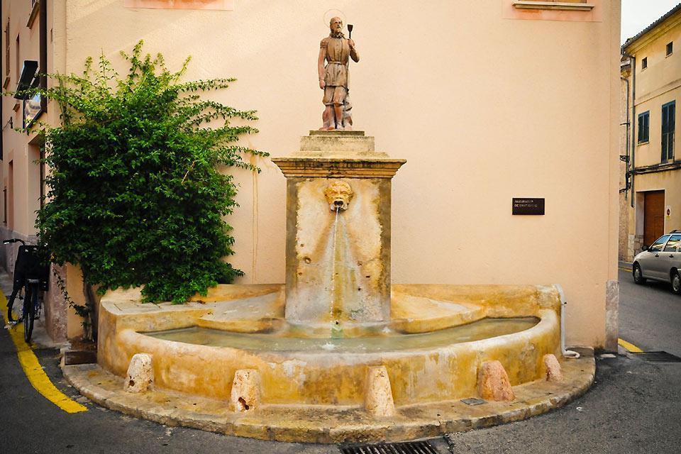 An ancient fountain.