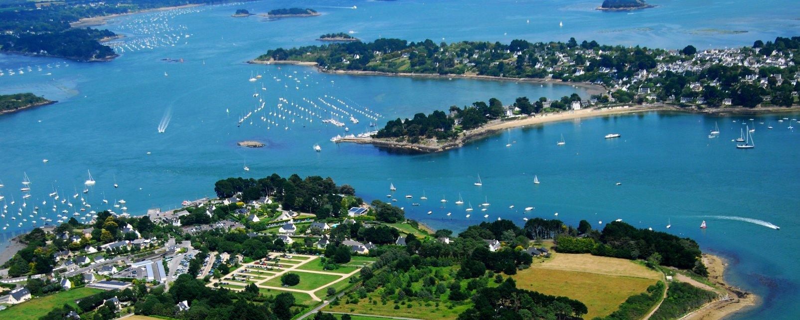 L'île aux Moines, Bretagne, Frankreich,