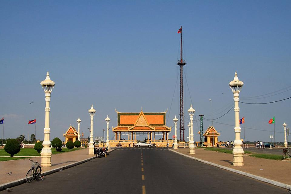 Cambodia's capital, Phnom Penh, is populated by about 2 milion inhabitants.