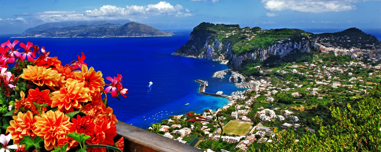 Capri, Campanie, Italie,