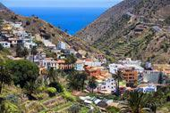 Vallehermoso is La Gomera's largest town.