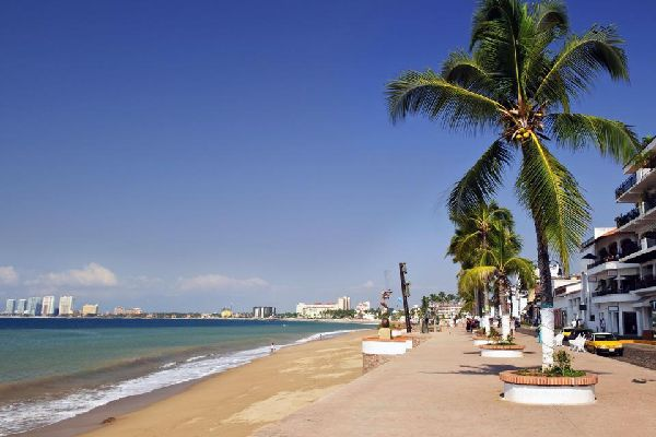 Puerto Vallarta est la troisième destination préférée des touristes, après Cancun et Los Cabos.