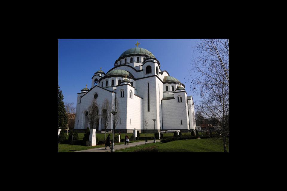 Monument phare de Belgrade, le temple Sveti Sava, réplique de Sainte-Sophie et deuxième plus grande église orthodoxe du monde après Saint-Sauveur à Moscou est une merveille !