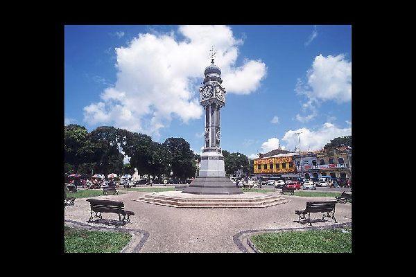 The Praça do Relógio was built in 1930.