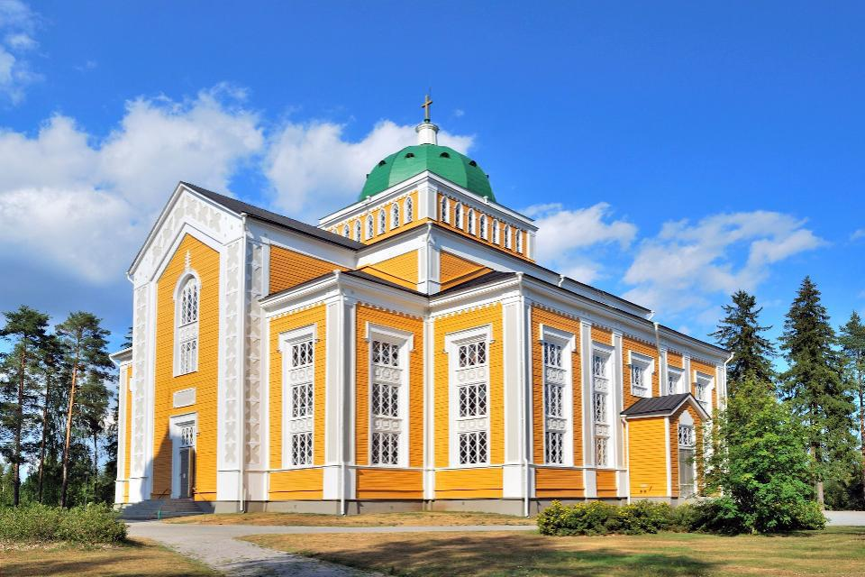 La ville de Kerimäki abrite la plus grande église en bois au Monde.