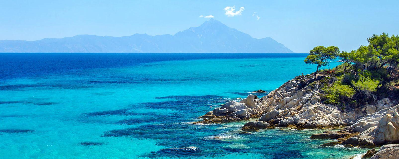 Halkidiki, Le nord de la Grèce, Grecia,