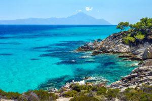 Halkidiki - Chalkidiki, Le nord de la Grèce, Grecia,