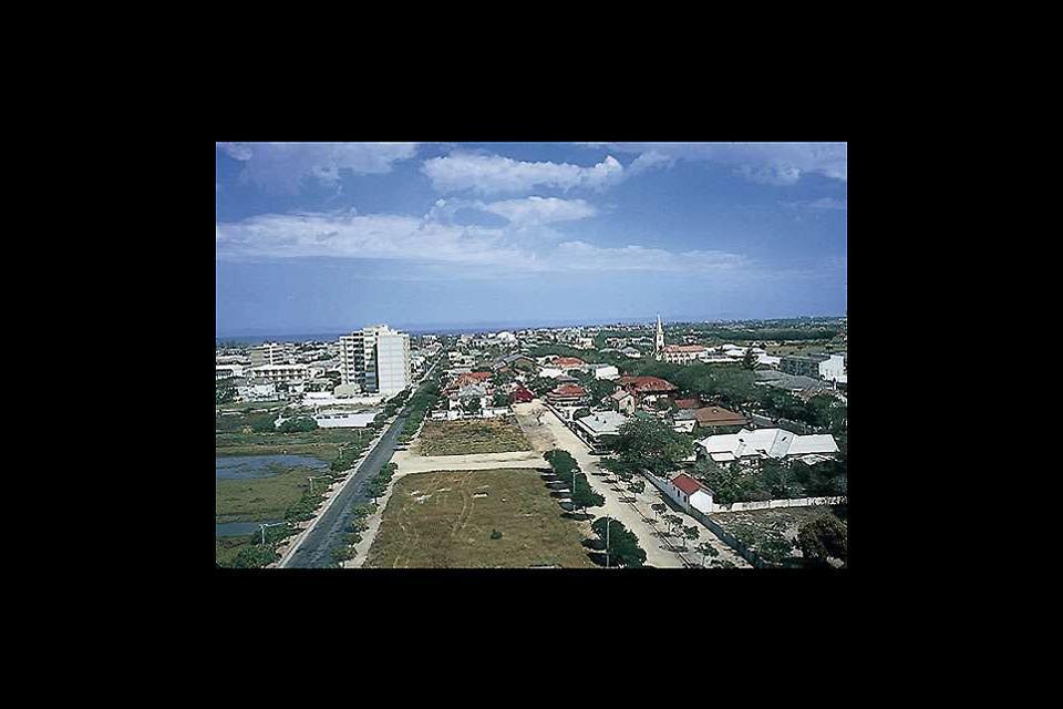 Beira est la deuxième ville du Mozambique.