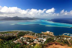 Océan Pacifique; Polynésie; Tahiti; Bora Bora; Tahaa;