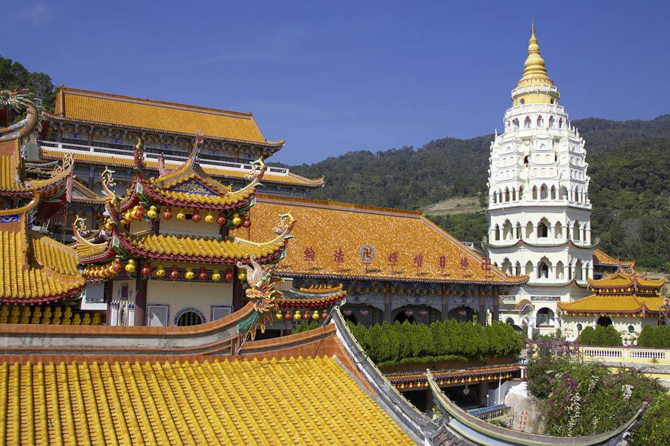 The Kek Lok Si Temple is the most well-known Buddhist temple on the island.