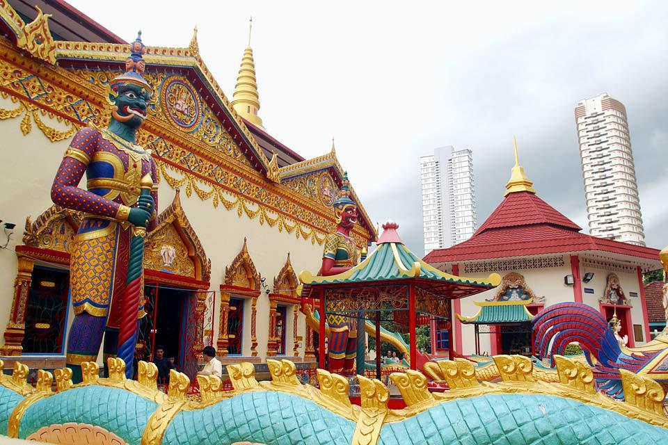 This temple was built in 1845.