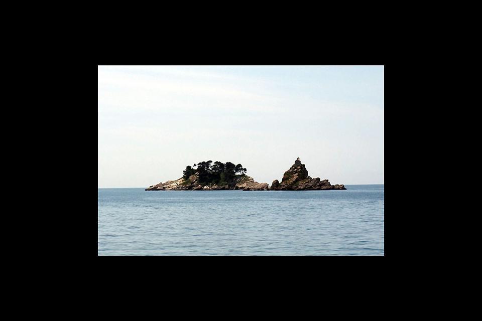 Die romantischen Inseln Katic und Sveta Nedjelja.