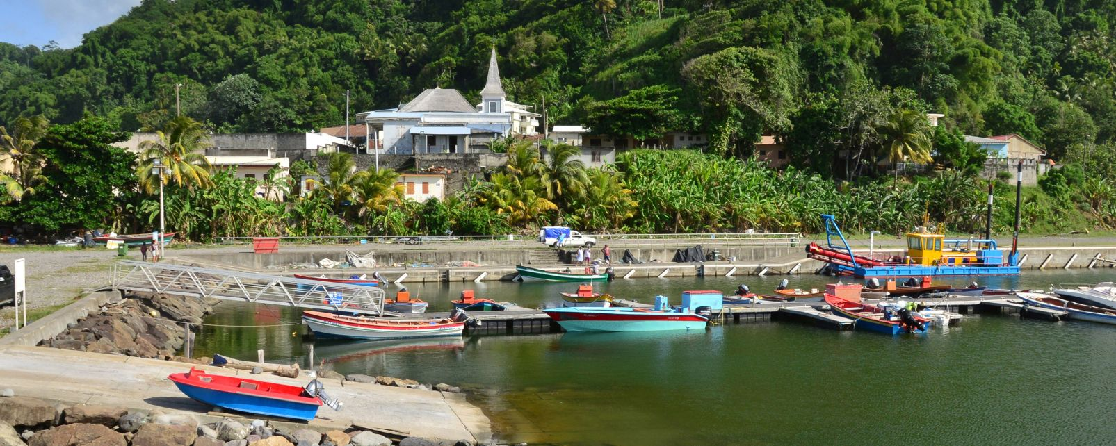 Grand'Rivière, Martinique,