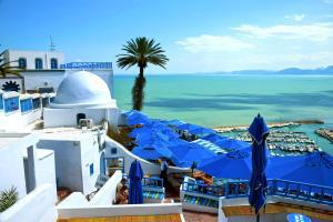 Afrique; Tunisie; Sidi Bou Saïd;