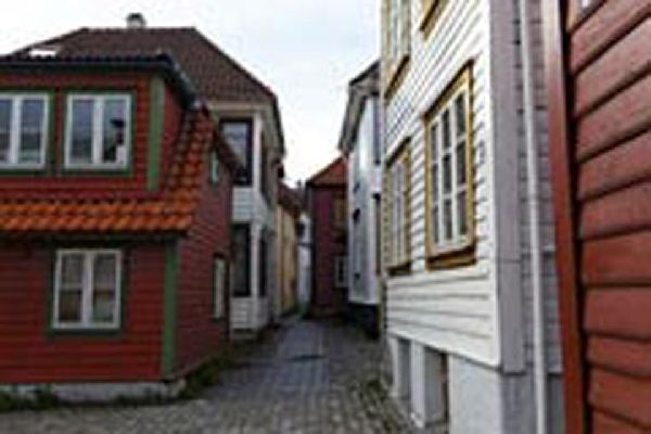 Una stradina di Bergen.