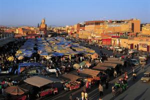 Afrique; Maroc; Marrakech;
