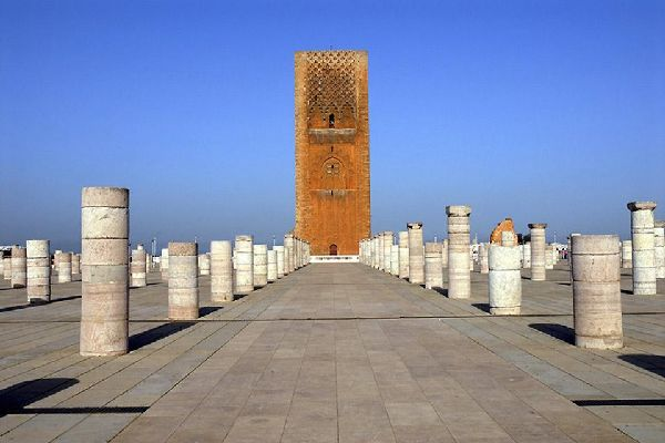 Murailles de l'ancienne médina.
