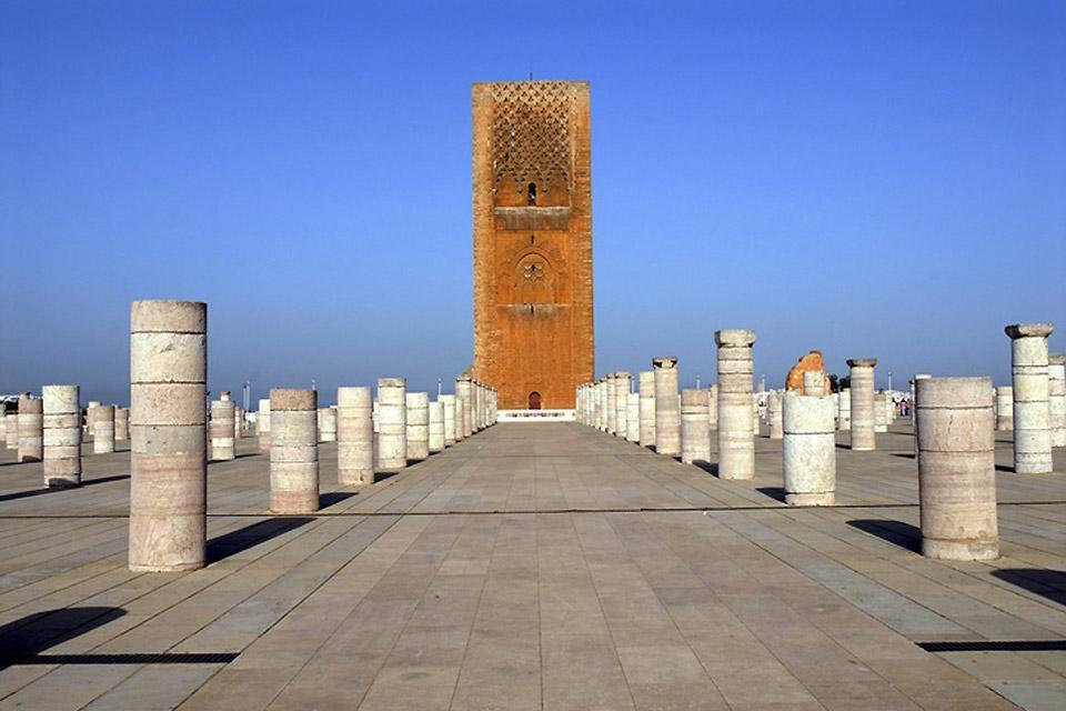 Murallas de la antigua medina.