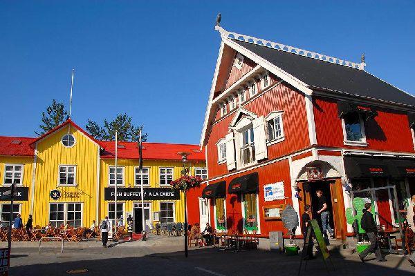 Malgré ses airs de petite bourgade, Reykjavik accueille à elle seule les deux tiers de la population, soit environ 118 000 habitants.