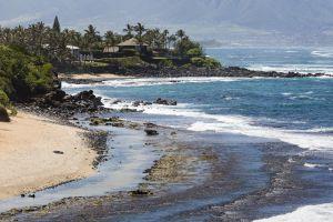 Paia, Hawaï, Etats-Unis, Paia, un jour où la mer est tumultueuse